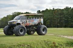 North carolina  digger dungeon monster truck Stock Images