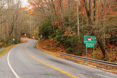 North Carolina Entrance Stock Photo