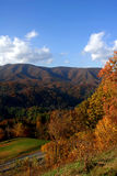 North Carolina in the Fall. Mountains Stock Photography