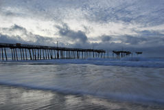 North Carolina Fishing Pier Stock Photography