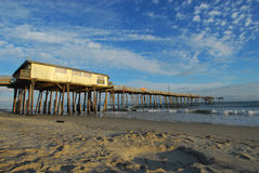 North Carolina Fishing Pier Royalty Free Stock Photo