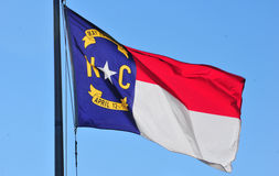 North Carolina Flag Stock Photos