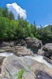 North Carolina-Linville Falls State Park Royalty Free Stock Photo