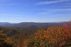 North Carolina Mountains in the Fall Royalty Free Stock Image