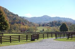 North Carolina Mountains Royalty Free Stock Photo