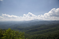 North Carolina Mountains in the Summer Stock Image