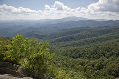 North Carolina Mountains in the Summer Royalty Free Stock Photo
