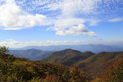 North Carolina Mountains Royalty Free Stock Photos
