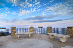 North Carolina Mt. Mitchell Observation Deck Royalty Free Stock Photography