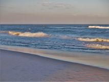 North Carolina Outer Banks Beach Sunset Royalty Free Stock Photos
