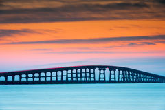 North Carolina Outer Banks Herbert Bonner Bridge Stock Images