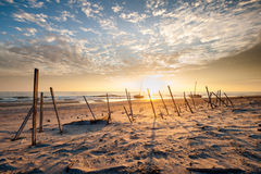 North Carolina Outer Banks OBX Cape Hatteras National Seashore Shipwrecks Stock Photo