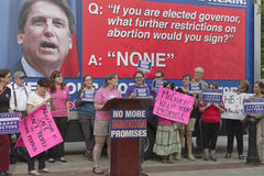 North Carolina Pro Abortion Rights Rally Stock Photography