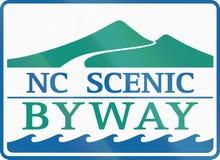 North Carolina Scenic Byway Stock Photo