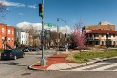 North Carolina-St. im Washington DC, Vereinigte Staaten lizenzfreie stockfotos