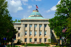 North Carolina State Capitol Building on a Sunny Day Stock Photos