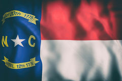 North Carolina State flag Stock Photography