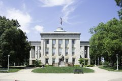 North Carolina State House in Raleigh stock photography
