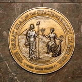 North Carolina State Seal stock photography