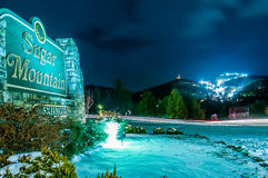 North carolina sugar mountain ski resort Stock Images