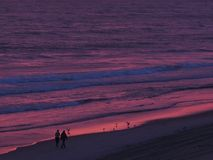North Carolina sunrise in purple Stock Photography