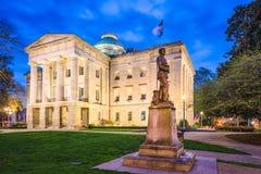 North Carolina tillståndsCapitol royaltyfri bild