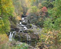 North Carolina waterfall 3 Stock Photography
