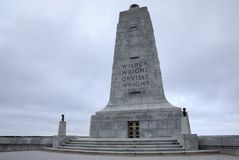 North Carolina Wright Brothers Monument Royalty Free Stock Photo
