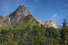 North Cascades Highway Royalty Free Stock Image