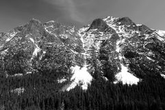 North Cascades mountain range Stock Image