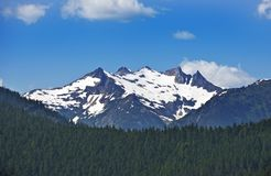 North Cascades Mountains Royalty Free Stock Photography