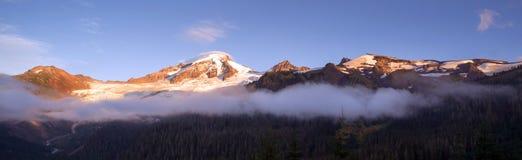 North Cascades Mt. Baker Heliotrope Ridge Glacier Peaks Stock Image