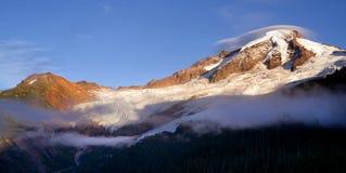 North Cascades Mt. Baker Heliotrope Ridge Glacier Peaks Stock Photography
