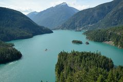 North cascades national park Royalty Free Stock Photos