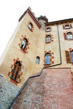 North castle. Historic castle near torino city where lives a ghost Stock Image