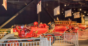 North Charleston and American LaFrance Fire Museum and Education Center-North Charleston, South Carolina Stock Images