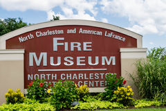 North Charleston and American LaFrance Fire Museum and Education Center-North Charleston, South Carolina Royalty Free Stock Photo