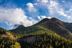 North Cheyenne Canyon Colorado Springs Royalty Free Stock Images