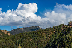 North Cheyenne Canyon Colorado Springs Royalty Free Stock Image