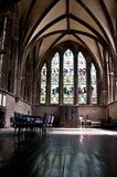 North choir aisle, Chester Cathedral, Chester, UK royalty free stock photography