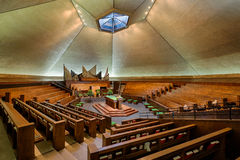 North Christian Church. (1964) at 850 Tipton Lane in Columbus, Indiana on October 22, 2014 Royalty Free Stock Images