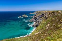 North Cliffs Cornwall Royalty Free Stock Image