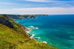 North Cliffs Cornwall Stock Photo