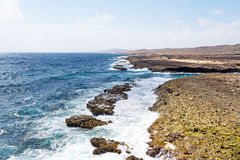 North coast from Aruba island Stock Photo