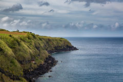 North Coast at Capelas on Sao Miguel Island Royalty Free Stock Photo
