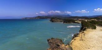 North coast, Corfu. On the north coast of Corfu near Sidari Stock Photo