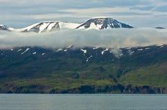 North coast of Iceland on the shores of Skjalfandi Shaky bay Stock Photo