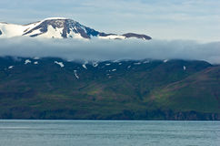 North coast of Iceland on the shores of Skjalfandi Shaky bay Stock Photography