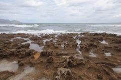 North coast of the island of mallorca Royalty Free Stock Photography