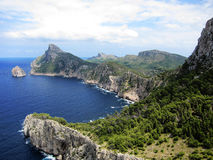 North Coast Of Majorca, Spain Stock Photos